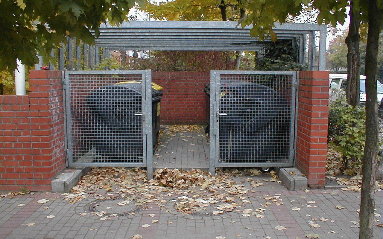 Gittertüren als Diebstahlsicherung